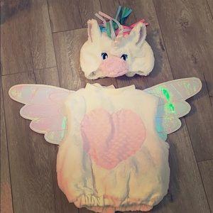 Beautiful unicorn outfit